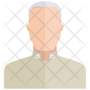 Old Person Man Icon
