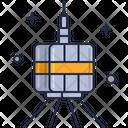 Mold Satellite Old Satellite Antenna Icon
