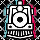 Old Train Travel Icon