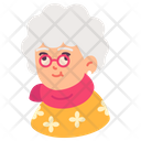 Old Glasses People Icon