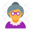 Old Woman Lay Icon