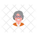 Old Woman Old Female Woman Icon