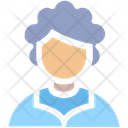 Old Avatar Woman Icon