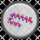 Oleic Acid Molecule Icon