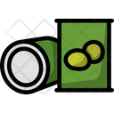 Olive Canned Can Icon