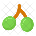 Fruit And Vegetable Flat Icon