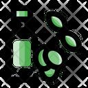 Olive Oil Olive Oil Bottle Icon