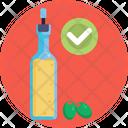 Keto Diet Olive Oil Olives Icon