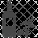 Olive Oil Bottle Icon