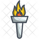 Olympic Flame Sport Icon