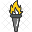 Olympics Games Flame Icon