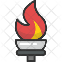Flame Fire Game Icon