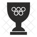 Olympic Trophy Cup Icon