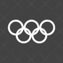Olympics Ring Symbol Icon