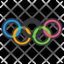 Olympics Rings Icon