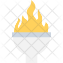 Olympic Flame Flambeau Icon