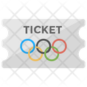 Olympics Ticket Icon