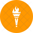 Olympics Torch Flame Icon