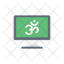Oom Hinduism God Icon