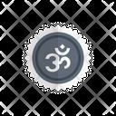 Oom Hindu God Icon