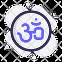 Om Religion Holy Icon