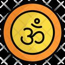 Om Festival Hindu Icon