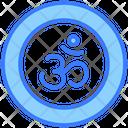 Om Coin Hindu Icon