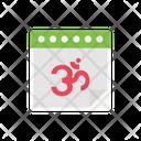 Oom Calendar Diwali Icon