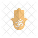 Hamsa Hand Oom Icon