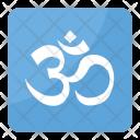 Om Aum Symbol Icon