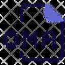 Oma File Audio File Audio Format Icon