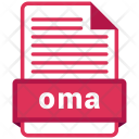 Oma file format Icon