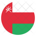 Oman National Country Icon