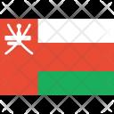 Oman Flag World Icon