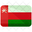Oman Flag Country Icon