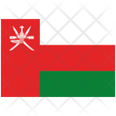 Flag Country Oman Icon
