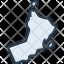 Oman Afghanistan Landmarks Icon