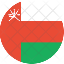 Oman Flag World Icon