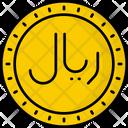Oman Rial Coin Money Icon