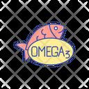 Omega Fish Vitamin Icon