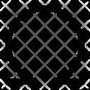 Omega Greek Alphabet Icon