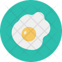 Egg Fry Eat Icon