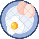 Omelet Egg Food Icon