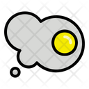 Omelet Food Chicken Icon