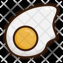 Omelette Egg Breakfast Icon