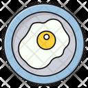 Omelette Egg Fried Icon