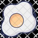 Omelette Egg Fried Egg Icon