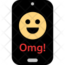Omg Face Chat Icon