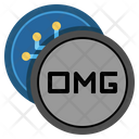 Omg Network Coin Omg Coin Icon