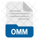 Omm file Icon